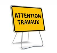 Travaux sur la section